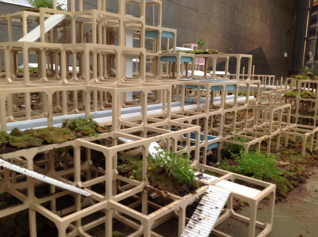 Paracity, Model, 2nd CAFAM Biennale 2014, Beijing, China